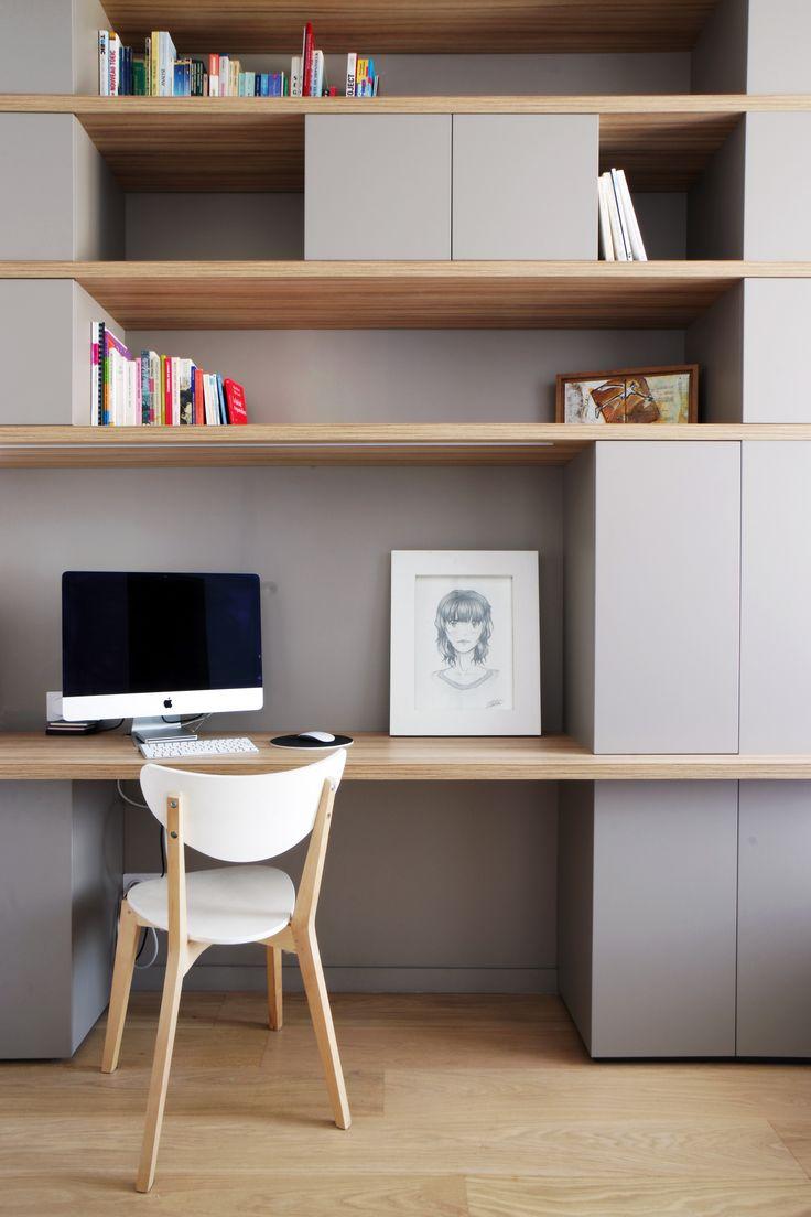 Aménager son bureau : faites installer des meubles sur mesure