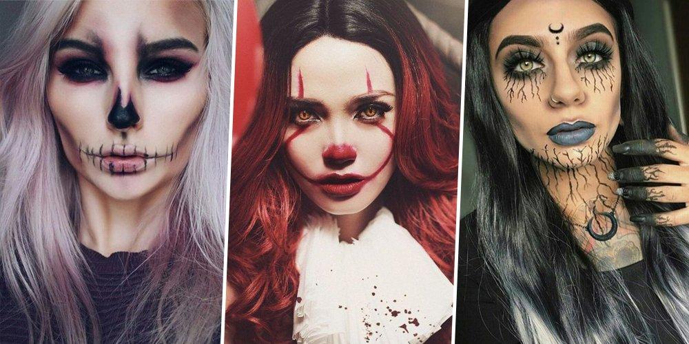 Comment Faire Un Maquillage D Halloween.Comment Faire Maquillage Halloween